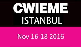 CWIEME Istanbul 2-4 November 2017