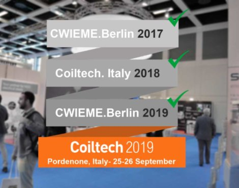 Exhibition: Coiltech, Italy 2019