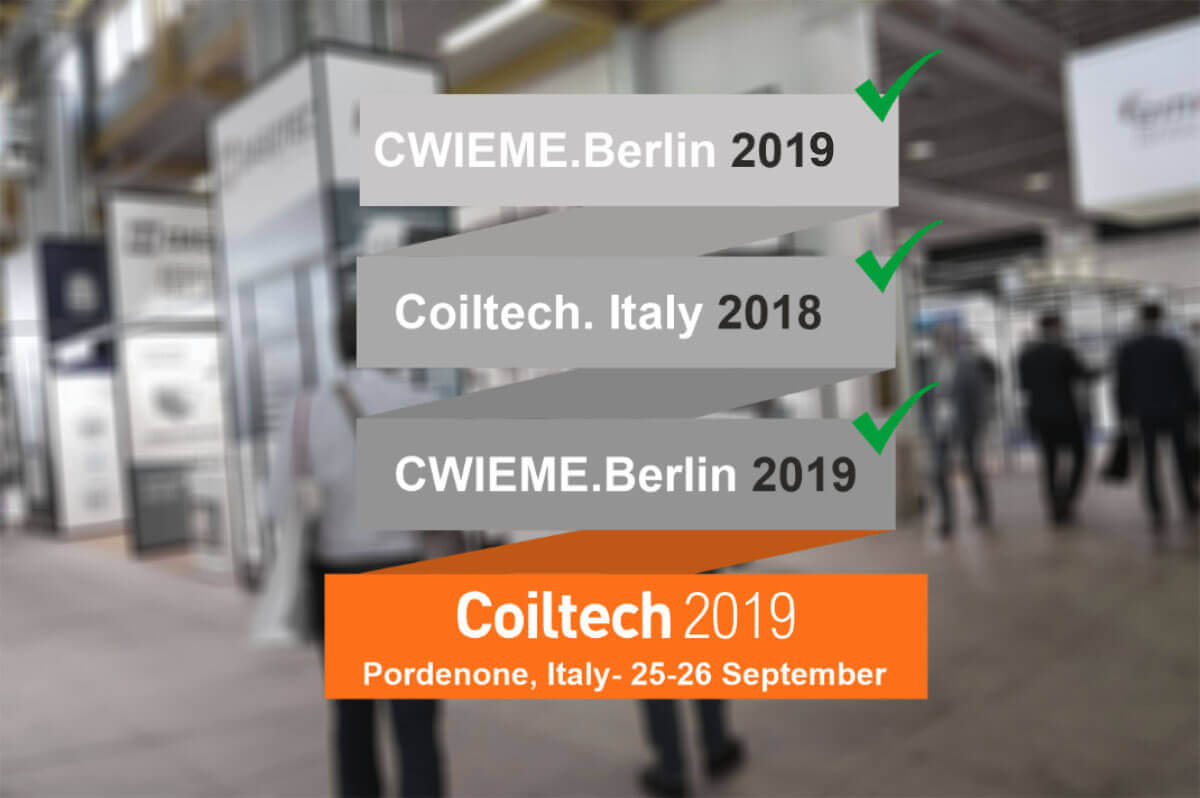 Mobitron will Exhibit at the Coiltech, Italy 2019