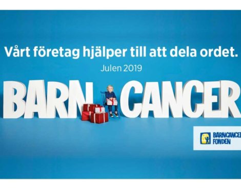 Swedish Childhood Cancer Fund Christmas 2019