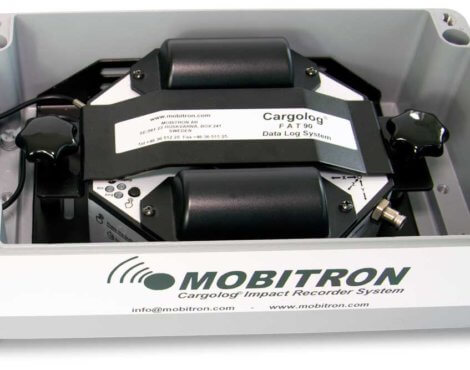 metal-case-IP67-with-the-mounted-mobitron-cargolog-impact-recorder
