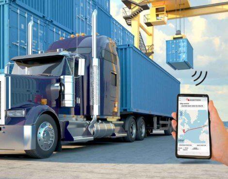 Reduce cargo damage in container transit